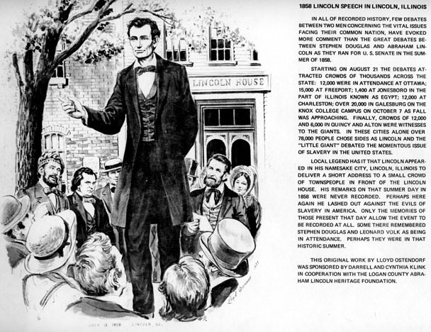 Abraham Lincoln's Speech To The 166th Ohio Regiment Shows His ...