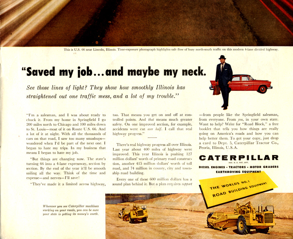 caterpillar was a major player